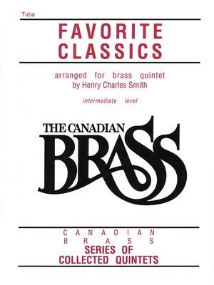CANADIAN BRASS FAVORITE CLASSICS TUBA