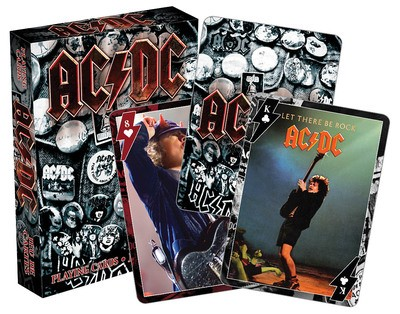 AC/DC PLAYING CARDS SINGLE DECK