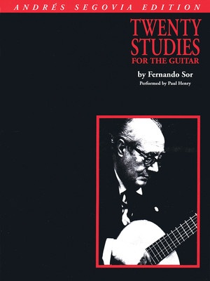 20 STUDIES FOR GUITAR BK ONLY