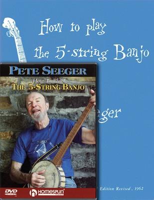 PETE SEEGER BANJO PACK BK/DVD