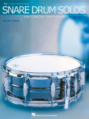 40 Intermediate Snare Drum Solos