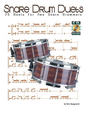 25 DUETS FOR SNARE DRUM BK/CD