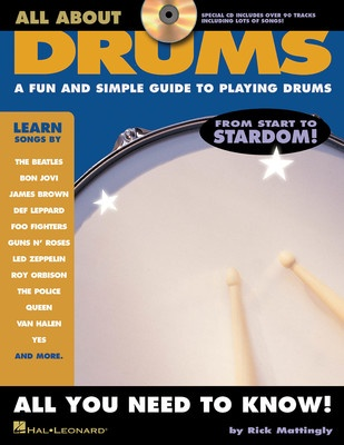 ALL ABOUT DRUMS BK/CD