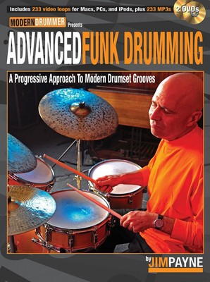 ADVANCED FUNK DRUMMING BK/2DVD