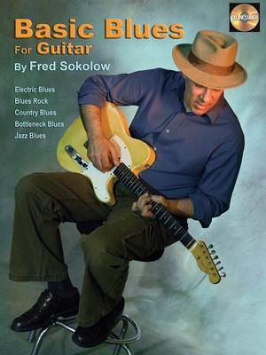 BASIC BLUES FOR GUITAR METHOD BK/CD