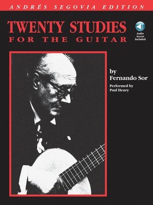 20 STUDIES FOR GUITAR BK/CD