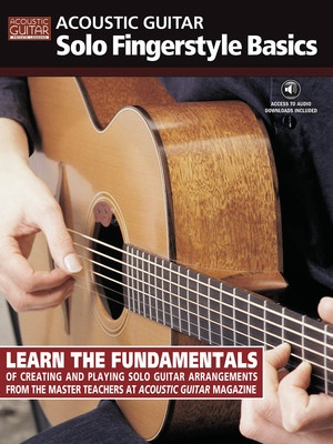 ACOUSTIC GTR SOLO FINGERSTYLE BASICS BK/CD