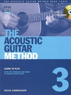 ACOUSTIC GUITAR METHOD BK 3 W CD GTR