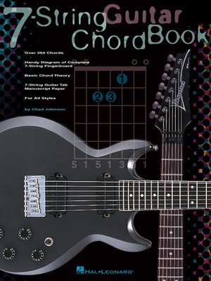 7 STRING GUITAR CHORD BOOK