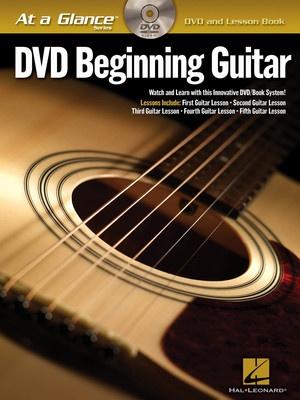 AT A GLANCE BEGINNING GUITAR BK/DVD