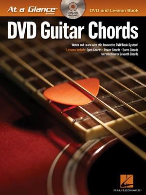 AT A GLANCE GUITAR CHORDS BK/DVD