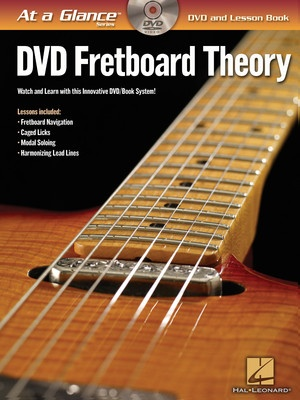 AT A GLANCE FRETBOARD THEORY BK/DVD