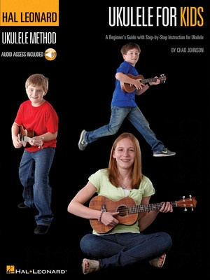 HL UKULELE FOR KIDS BOOK WITH ONLINE AUDIO