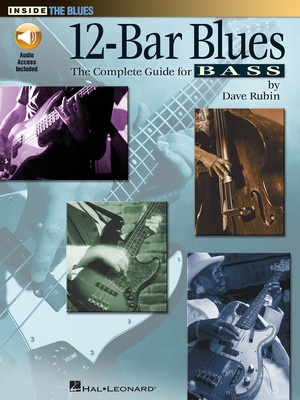 12 BAR BLUES COMPLETE GUIDE FOR BASS BK/CD