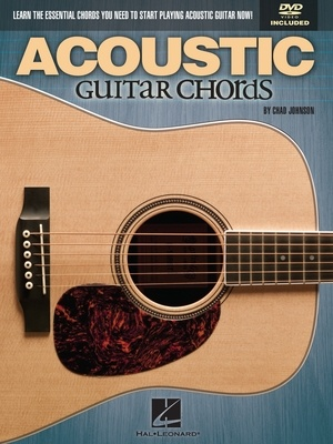 ACOUSTIC GUITAR CHORDS BK/DVD