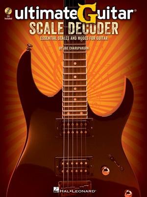 ULTIMATE GUITAR SCALE DECODER BK/CD