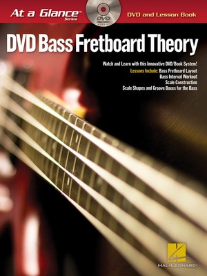 AT A GLANCE BASS FRETBOARD THEORY BK/DVD