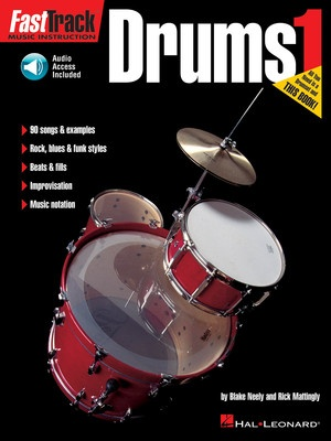 FASTTRACK DRUMS BK 1 BK/OLA
