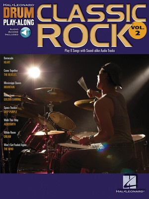 CLASSIC ROCK DRUM PLAY ALONG BK/CD V2