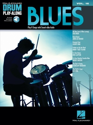 BLUES DRUM PLAY ALONG V16 BK/CD