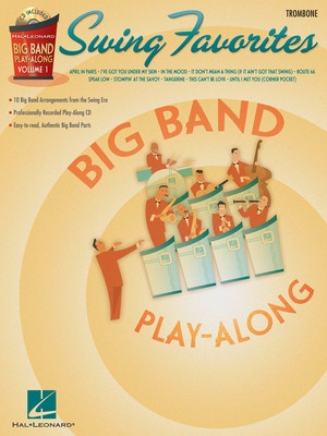 BIG BAND PLAY ALONG V1 SWING FAV BK/CD TROM