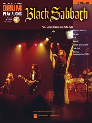 BLACK SABBATH DRUM PLAY ALONG BK/CD V22
