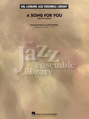 A Song for You (Tenor Sax Feature) - Hal Leonard Australia