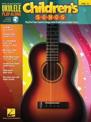 CHILDRENS SONGS UKULELE PLAY ALONG BK/CD V4