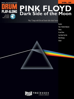 DARK SIDE OF THE MOON DRUM PLAY ALONG BK/CD V24