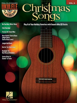 CHRISTMAS SONGS UKULELE PLAY ALONG BK/CD V5