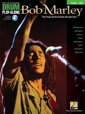 BOB MARLEY DRUM PLAY ALONG BK/CD V25