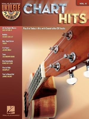 CHART HITS UKULELE PLAY ALONG BK/CD V8