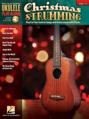 CHRISTMAS STRUMMING UKULELE PLAY ALONG BK/CD V11