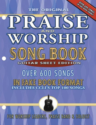 Praise and Worship Songbook - Guitar Edition - Hal Leonard