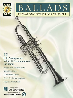 BALLADS PLAY ALONG SOLOS TRUMPET BK/CD