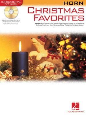 CHRISTMAS FAVORITES FOR HORN BK/CD