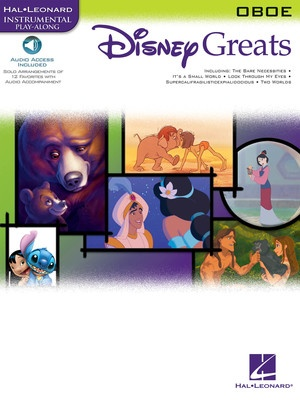 DISNEY GREATS BK/CD OBOE