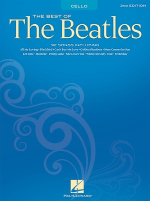 BEST OF THE BEATLES FOR CELLO 2ND EDITION