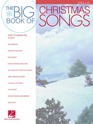 BIG BOOK OF CHRISTMAS SONGS CELLO