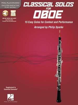 CLASSICAL SOLOS FOR OBOE BK/CDROM
