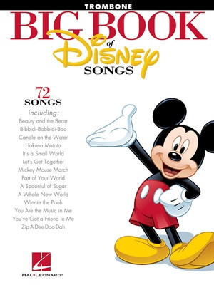 BIG BOOK OF DISNEY SONGS TROMBONE