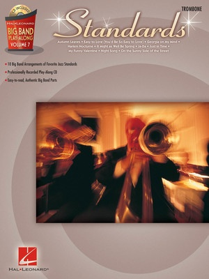 BIG BAND PLAY ALONG V7 STANDARDS TROMBONE BK/CD