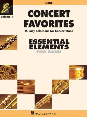 CONCERT FAVORITES EE V1 OBOE