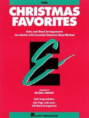 ESSENTIAL ELEMENTS CHRISTMAS FAVORITES TUBA