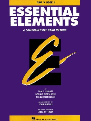 ESSENTIAL ELEMENTS BK 1 TUBA BASS CLEF  ORIGINAL SERIES