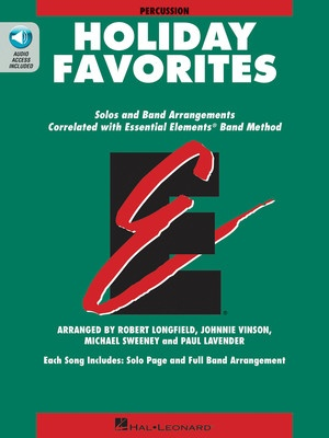 Essential Elements Holiday Favorites - Percussion