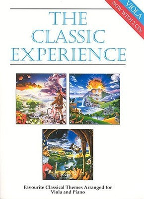 CLASSIC EXPERIENCE VIOLA AND PIANO BK/2CDS