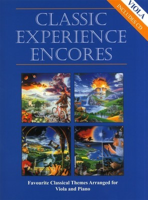 CLASSIC EXPERIENCE ENCORES VIOLA/PIANO BK/CD
