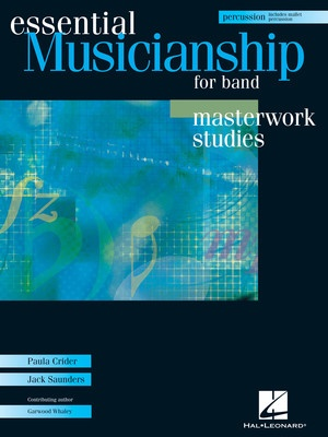 ESSENTIAL MUSICIANSHIP BAND MASTER PERC BK/CD