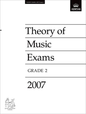 A B Theory Of Music Paper Grade 2 2007